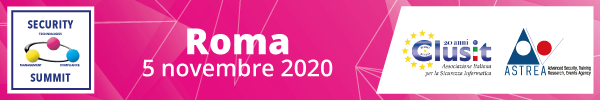 Security Summit Roma - 5 novembre 2020