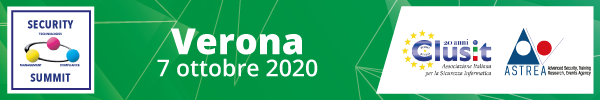 Security Summit Verona - 7 ottobre 2020